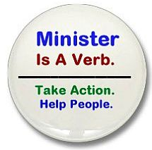 Minister is a Verb