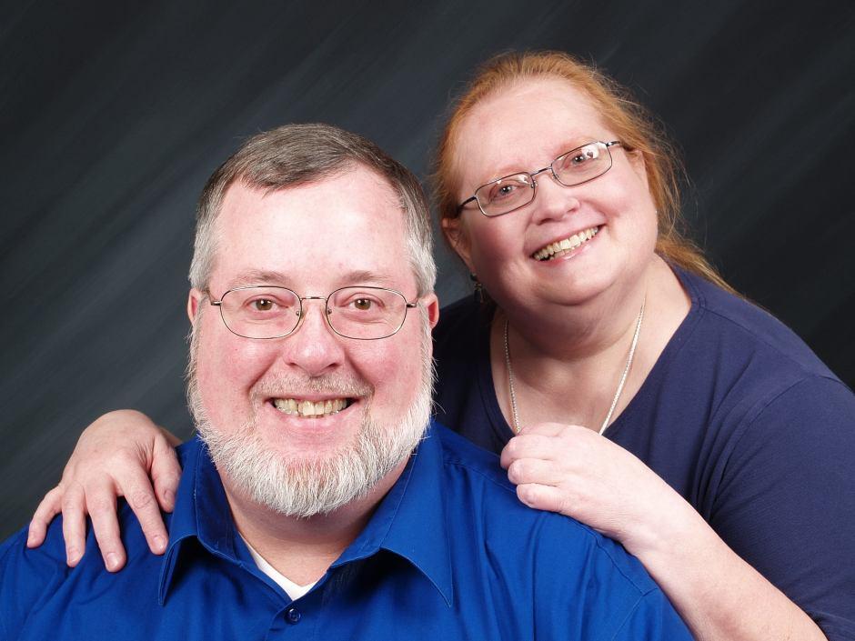 Tim and Barbara - December 2008