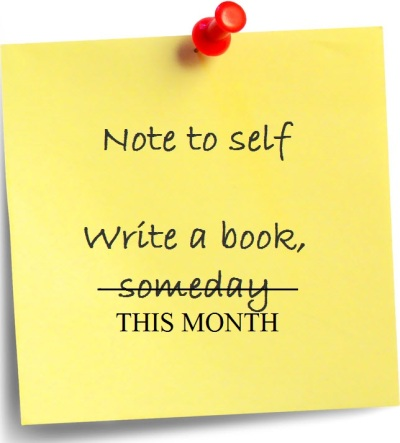 Note-to-self-Write-a-book-THIS-MONTH