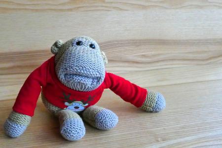 crochet-monkey