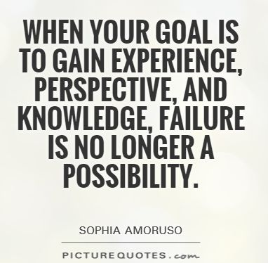 goal-experience-perspective-knowledge