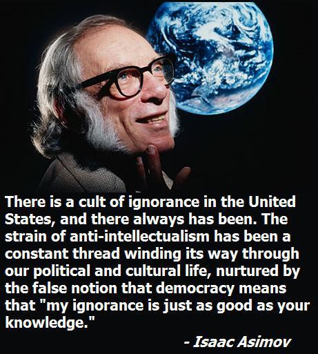 Isaac Asimov on Opinions